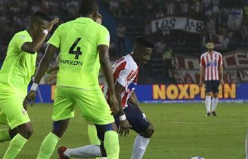 Liga Águila: Junior cae goleado ante Envigado en el Metropolitano