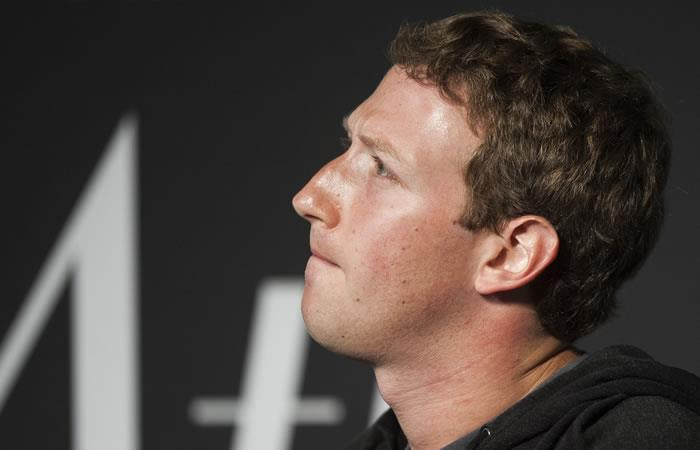 El fundador y CEO de Facebook, Mark Zuckerberg. Foto: AFP