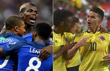 Conozca el historial de partidos entre Colombia y Francia