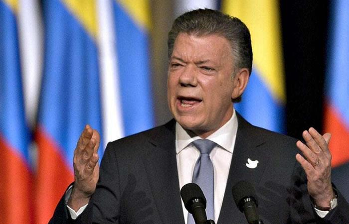 """Juan Manuel Santos: """"Las disidencias de las FARC no tendrán beneficio alguno"""""""