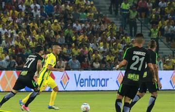 Liga Águila: Bucaramanga no contó con suerte frente a Nacional