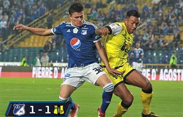 Liga Águila: Millonarios defraudó tras empatar con Alianza por la fecha 8 del FPC