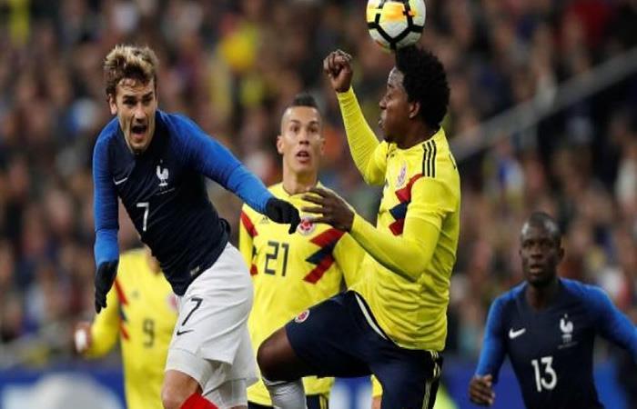 Videos: Así fueron los goles del amistoso entre Colombia y Francia