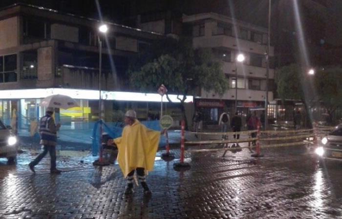Daños en Bogotá por fuertes lluvias