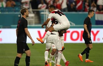 Fecha FIFA: Perú fue superior ante Croacia y se ilusiona de cara a Rusia-2018