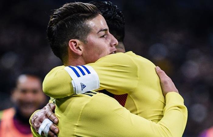 James Rodríguez tiene claro cuál es el objetivo con la selección Colombia
