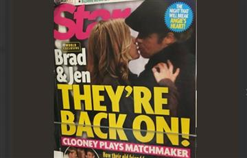 Jennifer Aniston y Brad Pitt no volvieron, todo fue un montaje