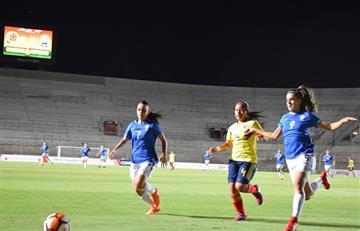 Selección Colombia Femenina: La Sub-17 perdió invicto ante Brasil en el Sudamericano