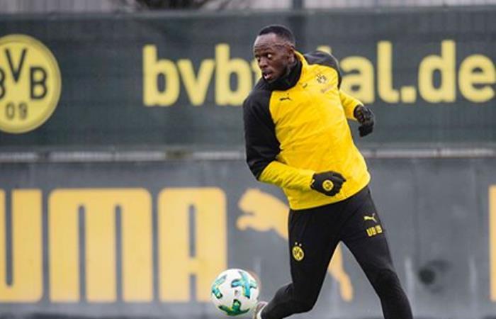 Usain Bolt sorprende con un golazo en el Borussia Dortmund