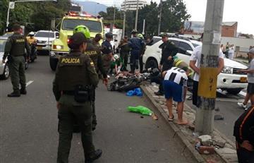 Hombre atropelló con su camioneta a dos presuntos fleteros