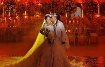 Mr. Black se casó y así fue su boda