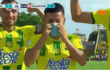 Sherman Cárdenas dedicó entre lágrimas el gol a su hija