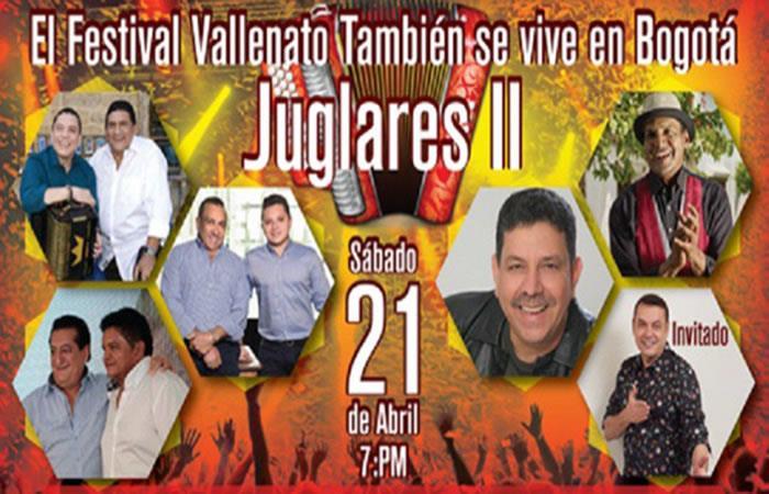 El Festival Vallenato llegará aBogotá en abril