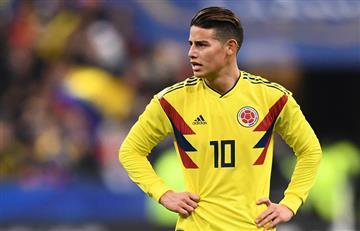 James Rodríguez y su opinión del momento de la selección Colombia