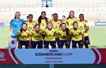La selección Colombia femenina sub 17 clasificó al Mundial