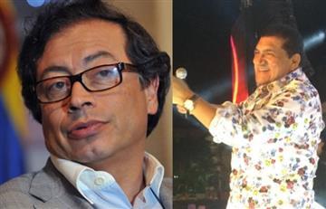 Gustavo Petro le responde al Poncho Zuleta luego de que el cantante lo llamara loco
