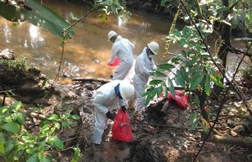 Santander: Se han recuperado un poco más de 225 barriles tras el derrame de crudo