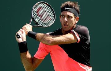 Del Potro vs. Isner por semifinales del Masters 1000 de Miami