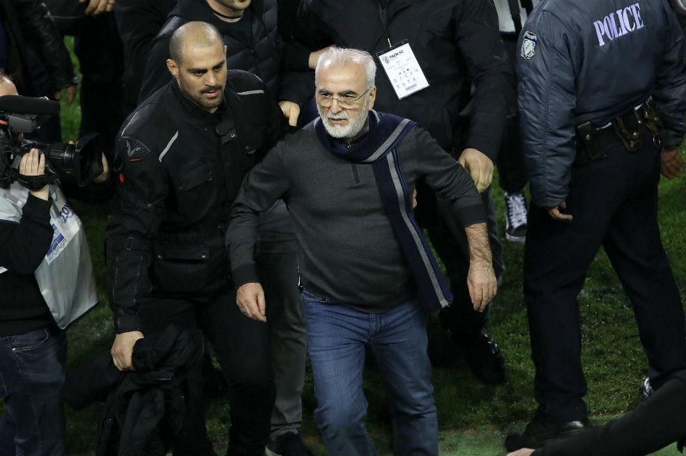 La sanción para el 'pistolero' de PAOK