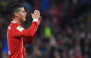 Con James Rodríguez el Bayern goleó al Borussia Dortmund
