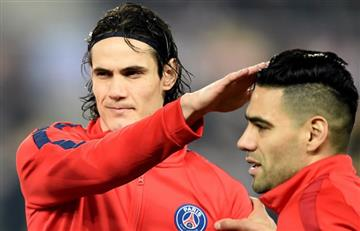 Falcao se enfrenta a Cavani en la tabla de goleadores en Francia