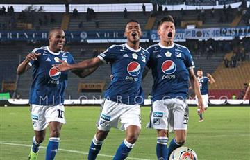 Millonarios golea 4-1 al Bucaramanga en El Campín