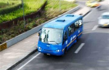 Bus del SITP ocasiona grave accidente en Bogotá