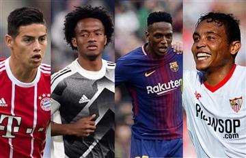 Champions League: Los colombianos que jugarán los cuartos de final