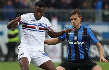 Duvan Zapata protagonista en la victoria del Sampdoria