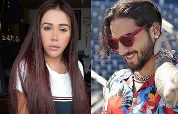 El tremendo beso de Yina Calderón y Maluma que es viral