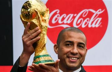 ¡La Copa del Mundo por fin está en Bogotá!