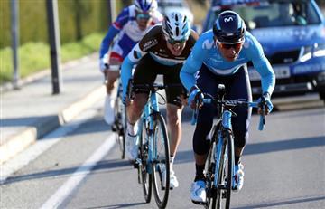 Nairo Quintana cede tiempo en la Vuelta al País Vasco