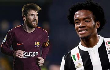 Prensa española compara a Juan Guillermo Cuadrado con Lionel Messi