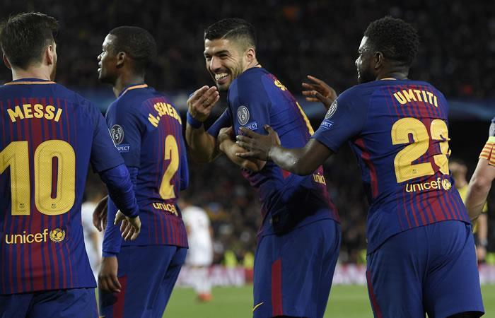 Barcelona ganó y destrozó a la Roma en la Champions League