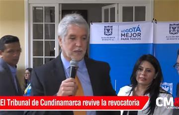 Bogotá: Fallo revive la revocatoria a Peñalosa
