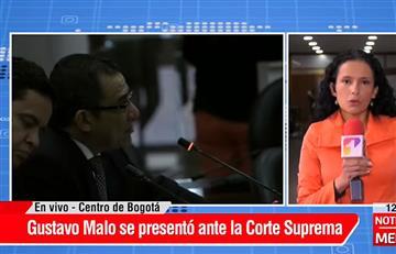 El magistrado Gustavo Malo fue suspendido de la Corte Suprema de Justicia