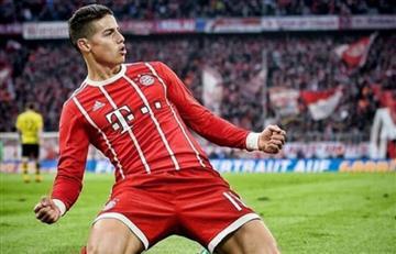 James Rodríguez de suplente en el Real a ser uno de los mejores en el Bayern