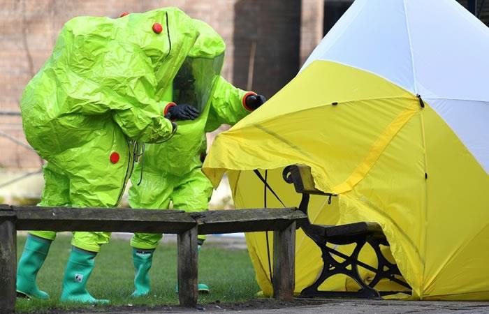 Laboratorio británico no encontró pruebas de que el gas neurotóxico sea de Rusia