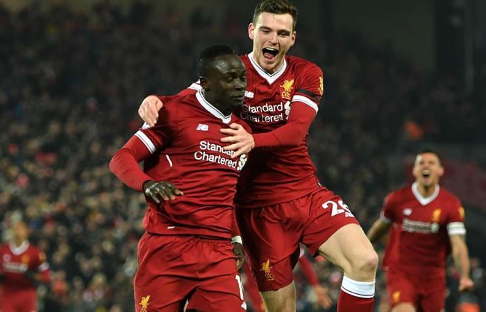 Liverpool vs Manchester City transmisión EN VIVO