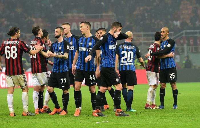 Milan e Inter empataron en el clásico 'Della Madonnina'