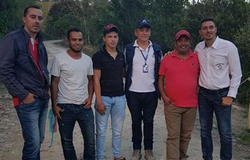 Norte de Santander: Liberadas las cuatro personas secuestradas en Teorama