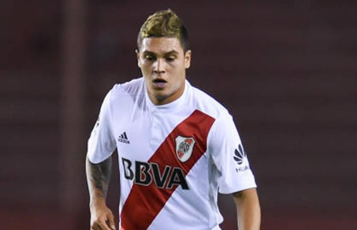 ¿Por qué Juan Fernando Quintero no jugará con River Plate ante Santa Fe?