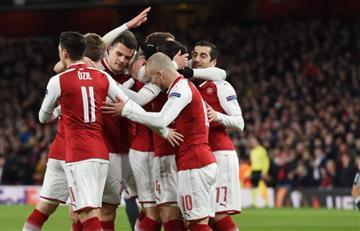 Arsenal se impuso ante CSKA con goleada