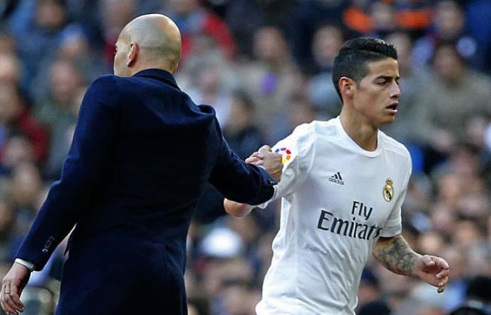 ¿James Rodríguez y Zinedine Zidane en el Bayern Múnich?