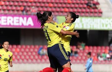 Selección Colombia femenina logró ganar y golear 7-0 a Uruguay