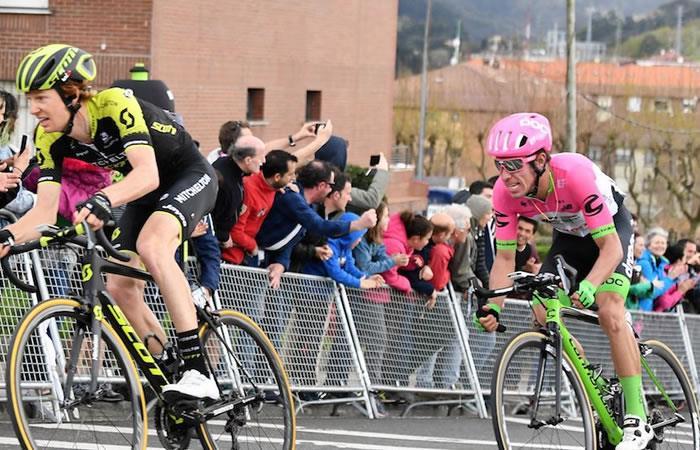 Vuelta al País Vasco: Rigoberto Urán el mejor colombiano de la quinta etapa