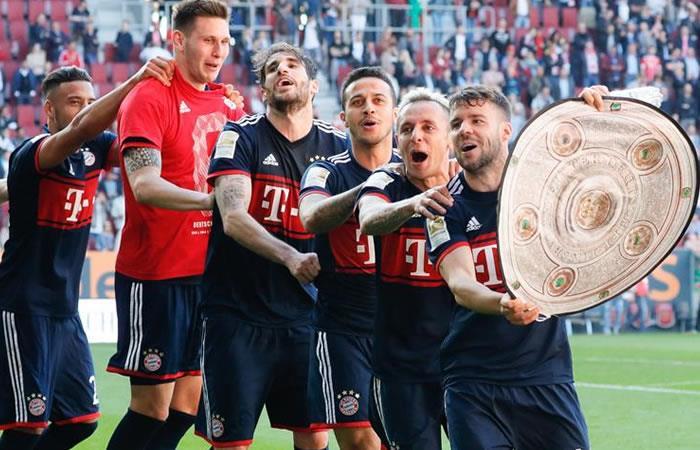 Bayern es campeón de la Bundesliga y así celebró