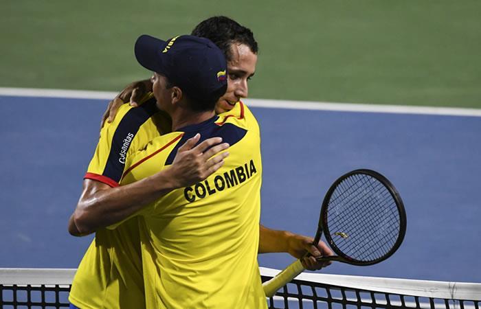 Copa Davis: Colombia y Brasil empataron