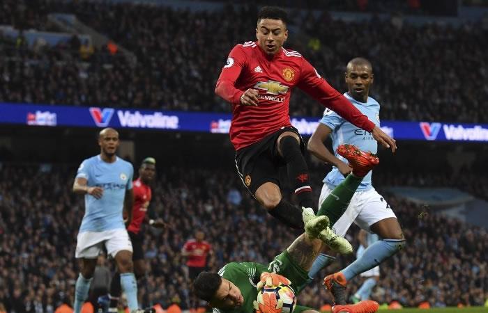 El United le gana al Mánchester City y le aplaza la celebración