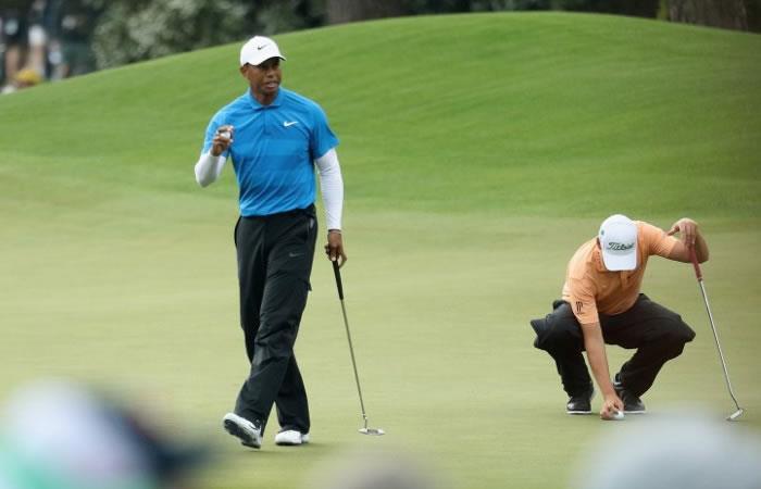 Tiger Woods no encuentra su ritmo en el Masters de Augusta